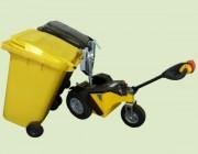 Tracteur pousseur électrique - Capacité de traction (sur sol plat) : 2000 kg