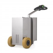 Tracteur pousseur électrique inox 2500 kg - Charge jusqu'à 2500 kg