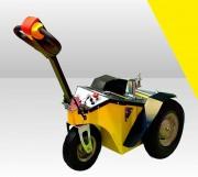 Tracteur pousseur électrique poubelles - Conçu pour tracter 2000 kilos