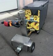 Tracteur pousseur électrique vertical - Puissance : 400W à 800W - Traction : 1 à 2,5 T à plat