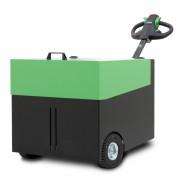 Tracteur pousseur rechargeable 6000 kg - À propulsion électrique - alimenté par batteries rechargeables