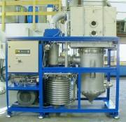 Traitement des effluents industriels par évaporation sous vide - Séparation de 2 phases liquides : un condensat (distillat) et un concentrat