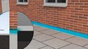 Traitement des remontées d'humidité des murs - Absorption d'eau sera réduite de plus de 95 %