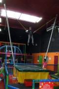 Trampoline à élastique - Pour parc de jeu intérieur
