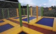 Trampoline en batterie - Des trampolines ludiques et sécurisants pour collectivité publique