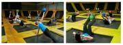 Trampoline fitness - Trampoline multifonction