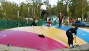 Trampoline gonflable - Surfaces allant de 44 à 161 m²