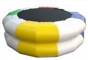 Trampoline gonflable pour 2 enfants 4 à 12 ans - Age conseillé : de 4 à 12 ans