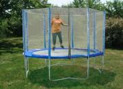 Trampoline pour air de jeux - Modèle à 4 pieds - Diamètre : 3.65 ou 4.30 m