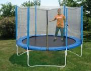 Trampoline pour enfants - Modèle à 3 pieds - Diamètre :  2,44 ou 3 m