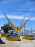 Trampoline pour parc d'attraction