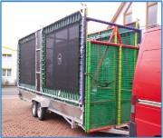 Trampolines en batterie - Structure sécurisée et mobilité facile