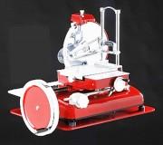 Trancheuse manuelle à jambon - Surface de coupe (L x H) : 270 x 250 mm