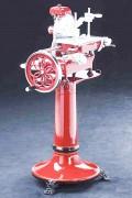 Trancheuse manuelle de charcuterie - Surface de coupe (L x H) : 185 x 150 mm