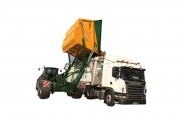 Transbordeur agricole avec déversement latéral - CU : 15 T - Hauteur d'élévation : 4,30 m