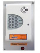 Transmetteur téléphonique - Consommation : en veille 10 mA - en alarme 100 mA.