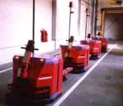 Transpalette automatique de grande capacité - Capacité de Levage : de 100 à 3500 Kg