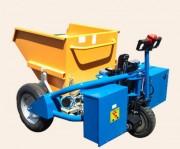 Transpalette électrique chantiers - Charge maxi 1200 kg