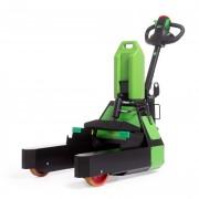 Transpalette électrique rechargeable - Chariot porte-palette - Charge max. 1000 kg