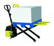 Transpalette élévateur de charge - Capacité de charge (kg) : 1000
