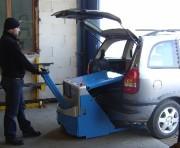 Transpalette gerbeur 1 mètre électrique - Charge maxi : 750 kg