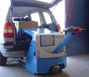 Transpalette gerbeur électrique - Charge maxi : 1 400 kg