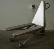 Transpalette inox 1000 Kg - Capacité de charge : 1000 kg