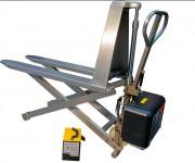 Transpalette inox électrique - Capacité: 1000 Kg - Levée max : 800 m