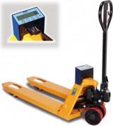 Transpalette manuel peseur Charge 2000 kg