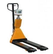 Transpalette peseur à indicateur rotatif - Capacité de charge max. : 2000kg/1kg