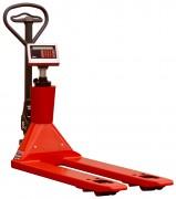 Transpalette peseur compteur de pièces - Capacité de pesage:  2200 kg