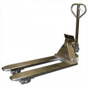 Transpalette peseur inox 2000 kg - Capacité 2000 kg