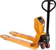 Transpalette peseur manuel 2en1 - Capacité: 2 Tonnes - Précision de pesage