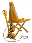 Transpalette pneumatique - Capacité : 1000 Kg - Hauteur de levée : 800 mm