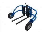 Transpalette pompage manuel tout terrain - 2 capacités : 1500 ou 1000 kg