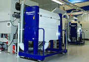 Transport déchets autoplatines - Capacité de traitement : jusqu'à 12.000 feuilles de carton/heure