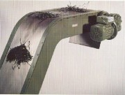 Transporteur à piste magnétique - Epuration par séparation magnétique Liquide / solides