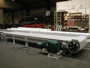 Transporteur à tablier - Charge maximale : 1000 kg par mètre linéaire