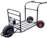 Transporteur chariot électrique - Charge utile 150 Kg - Ralentisseur frein électrique en série