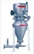 Transporteur pneumatique phase dense - Vitesses de transport comprises entre 3 et 15 m/s