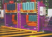 Transtockeur de caisse - Inclinaison de 45° du support
