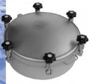 Trappe à pression pour cuve -1/10 bars - Cadre épaisseur 4 mm longueur 150 mm