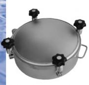 Trappe à pression ronde pour cuve - +/- 1bar