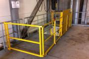 Trappe automatique pneumatique - Résistance plancher : 2000 kg (uniformément répartis)