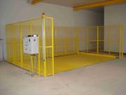 Trappe de fermeture automatique de tremies - Grillagée, 2 m de hauteur