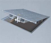 Trappe et capot de sol - Epaisseur : 30 - 34 mm