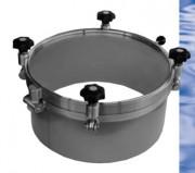 Trappe hublot hors pression pour silos - Trappe hublot hors pression