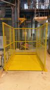 Trappe automatique pneumatique de fermeture trémie - Sécurisez la manutention au travers d'une trappe