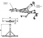 Traverse en t aluminium pour robot et extracteur - L'encombrement et le poids des préhenseurs réduits
