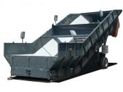 Trémie acier à fond mouvant - Capacité : de 15 à 30 m³